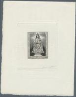 Thematik: Religion / Religion: 1945: Madonna Souvenier Sheet, Artists Proof, Signed Cottet. - Glaube, Religion, Kirche