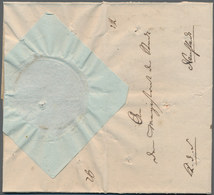"""Disinfection Mail: 1831, 15.Dezember, Dienstbrief """"K.D.S."""" Des Königl.Holsteinisch-Lauenburgischen O - Gesundheit"""
