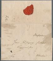 Disinfection Mail: 1831, 3.Nov., Briefhülle Mit Komplettem Inhalt Nach Oldesloe, Privat Befördert Mi - Gesundheit
