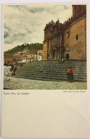 (710) Peru - Cuzco - La Catedral - Hond - Pérou