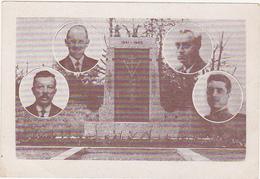 Monument Aux Morts - 1941 - 1945 - Gueux - Vrigny (Marne) - Croix De Lorraine - Monuments Aux Morts