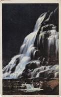 AR56 Katrina Falls By Moonlight, Rock Hill, N.Y. - Local Publisher - NY - New York