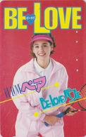 RARE Télécarte Japon / 110-011 - MANGA - BE LOVE - Femme Sport TENNIS - ANIME Japan Phonecard -  BD COMICS TK - 11523 - Comics