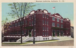 AR56 Municipal Auditorium, Burlington, Vt. - Burlington