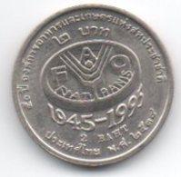 2 Baht 1995 50° Fao - Tailandia