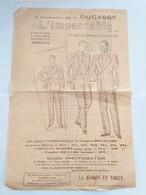 Publicité L'Impeccable Dunkerque à L'occasion De La Ducasse Verso L'impeccable En Goguette - Publicité
