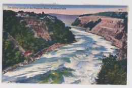 AI89 The Great Gorge Of The Niagara River, Niagara Falls - Linen - Niagara Falls
