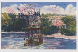 AI89 Spanish Aerocar Over Whirlpool, Niagara Falls, Canada - Linen - Niagara Falls