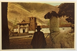 (713) Peru - Native With Llama In The Peruvian Andes - Pérou