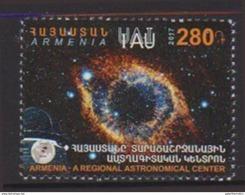 ARMENIA , 2017, MNH, ASTRONOMY, ARMENIAN ASTRONOMICAL CENTER, 1v - Astronomy