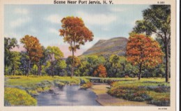 AR57 Scene Near Port Jervis, N.Y. - Linen - NY - New York