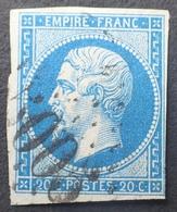 DF40266/589 - NAPOLEON III N°14B - GC 5005 : ALGER (ALGERIE) - 1853-1860 Napoléon III