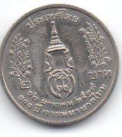 Tailandia 2 Baht 1996 Siriraj Nursing - Tailandia
