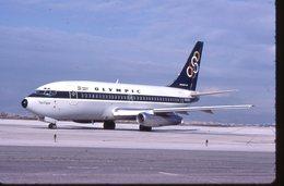 OLYMPIC  B 737  SX-BCH /   DIAPOSITIVE KODAK  ORIGINAL - Diapositives