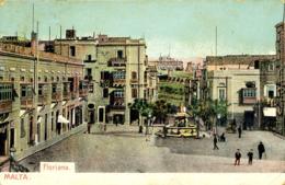 MALTA - FLORIANA - EARLY UNDIVIDED BACK - Malta