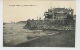 HENDAYE PLAGE - Le Rond Point Du Casino - Hendaye