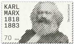 2018 Germany -200 Years Of Karl Marx Birth - 1 V - MNH** MI 3384 - BRD