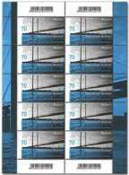 2018 Germany - Europa CEPT - Bridges - MNH** Sheetlet Of 10 V MI 3383 - Unused Stamps