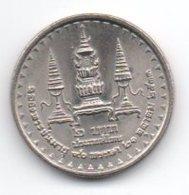 Tailandia 2 Baht 1990 Birthday Of The Queen Mother - Tailandia