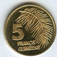 Guinée Guinea 5 Francs 1985 UNC KM 57 - Guinea