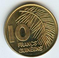 Guinée Guinea 10 Francs 1985 UNC KM 58 - Guinée