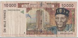 WEST AFRICAN STATES P. 114Ai 10000 F 1995 F - Ivoorkust