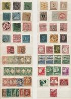 Alle Welt: 1850-1963, Ungebrauchte Und Gestempelte Sammlung Im Alten Schaubek-Vordruckalbum Mit U.a. - Briefmarken