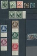 Alle Welt: 1850-2000 (ca.), Dublettenpartie Auf Etlichen Kleinen Stecktafeln Und In 3 Kleinen Einste - Briefmarken