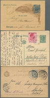 Alle Welt: 1870-1963, Partie Von Etwa 210 Belegen Mit U.a. Österreich, Schweiz, Ungarn, Ägypten Und - Briefmarken