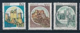 Italien 3x Burgen Gest. Rocca Di Calascio + Castello Volturno + Castello Scaligero-Sirmone - Schlösser U. Burgen