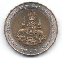 Tailandia 10 Baht 1996 - Tailandia