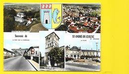 St ANDRE De CUBZAC Multivues Blason (Combier) Gironde (33) - France