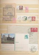 Saarland Und OPD Saarbrücken: 1945 - 1995, Umfangreiche Sammlung In Zwei Dicken Einsteckbüchern, Dab - Saar