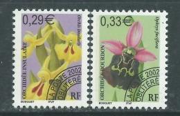 France  Préoblitéré N° 244 / 45 XX Fleurs : Orchidées ( I )  : Les 2 Valeurs  Sans Charnière, TB - 1989-....