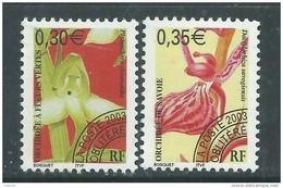 France  Préoblitéré N° 246 / 47 XX Fleurs : Orchidées ( II )  : Les 2 Valeurs  Sans Charnière, TB - 1989-....