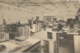 PAPETERIES DE RUYSSCHER, S.A., Bruxelles. Atelier De Deuillage - Industrie