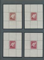 Österreich: 1936, DOLLFUß, Sehr Gehaltvolle Spezialsammlung Der PROBEDRUCKE Zur 10 Schilling Freimar - 1850-1918 Imperium