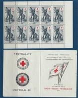 """FR Carnet YT 2004 """" Croix-Rouge TP 1049 """" 1955 Neuf** - Croce Rossa"""