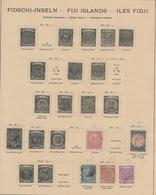 Ozeanien: 1871-1915, Ungebrauchte Und Gestempelte Sammlung Auf Alten Albumseiten Mit Diversen Britis - Briefmarken