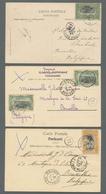 Belgisch-Kongo: 1903-1922, Attractive Lot Of Nine Postcards (no Postal Stationeries) With Some Bette - Belgisch-Kongo