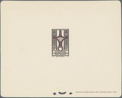 Ghadames: 1949, Cross Of Agadem, 4fr. To 100fr., Complete Set Of Ten Values Each As Epreuve De Luxe. - Ohne Zuordnung