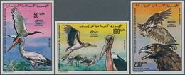 Mauretanien: 1976;1985, Lot Of 590 IMPERFORATE Stamps BIRDS MNH: Mi. No. 547/549 And 738/739, Also I - Mauretanien (1960-...)