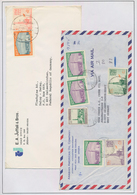Saudi-Arabien: 1970/2000 (ca.), Collection Of Apprx. 150 (mainly Commercial) Covers, Chiefly Corresp - Saudi-Arabien