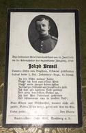 Sterbebild Wk1 Ww1 Bidprentje Avis Décès Deathcard RIR1 St. Laurent Blangy Aus Voglsam Feldkirchen Juni 1915 - 1914-18