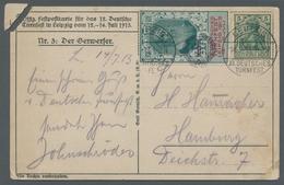 Thematik: Sport-Turnen / Sport-gymnastics: 1899-1933, Partie Von 6 Verschiedenen Belegen, Davon 5 Zu - Gymnastik