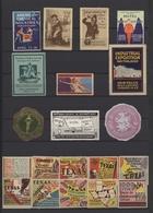 Vignetten: 1900/1970 (ca.), Sammlung Von Ca. 470 Vignetten, Meist älteres Material, Dabei U.a. USA, - Vignetten (Erinnophilie)