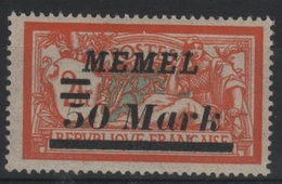 MEM 17 - MEMEL Merson N° 78 Neuf* - Ungebraucht