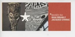 Ticket - Papouasie NouvelleGuinée, Effigie De Flute Rituelle - Vue Du Musée(musée Quai Branly Jacques Chirac) - Amiens
