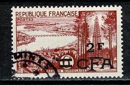 Réunion 1955/56 Yv. & T. 321 -  Obl. / Used / Gebr. - Réunion (1852-1975)