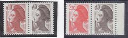 B16 - FRANCE -  LIBERTE 2179a Et 2376a ** MNH ( 1982 Et 1985 ) - France